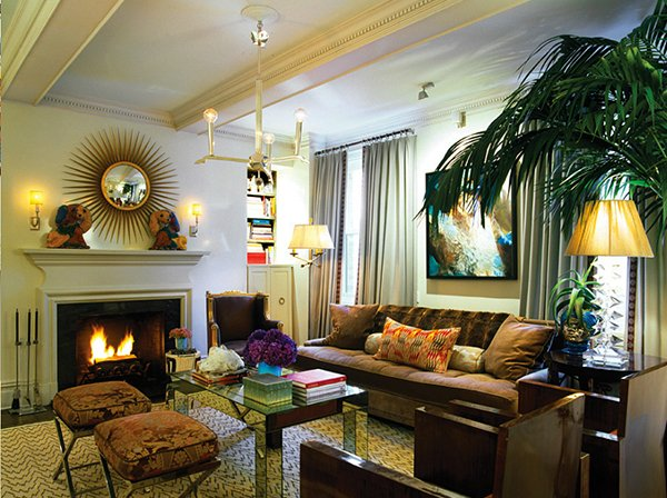 15 Art Deco Inspired Living Room Designs | Home Design Lover Deko Modern Living
