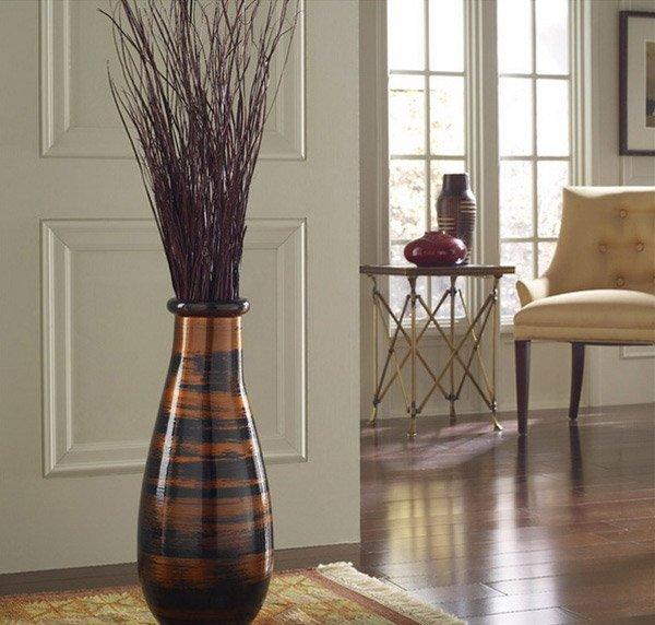 Elaborate beauties of 15 floor vase designs home design for Vase de decoration interieur