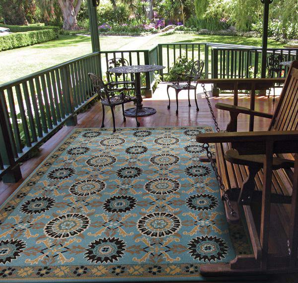 Suncrest Pattern Outdoor Rug