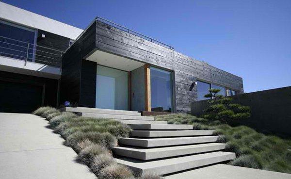 15 concrete exterior staircase design home design lover - Easy steps redesign home contemporary home style ...