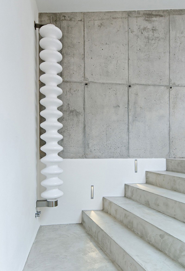 Elegant Home With Concrete Interiors In Czech Republic