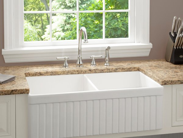Double Basin Kitchen Sink : 15 Functional Double Basin Kitchen Sink Home Design Lover