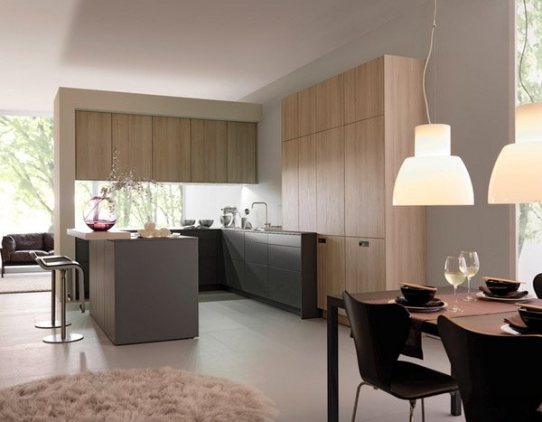 15 designs of modern kitchen cabinets home design lover for Contemporary kitchen cabinet colors
