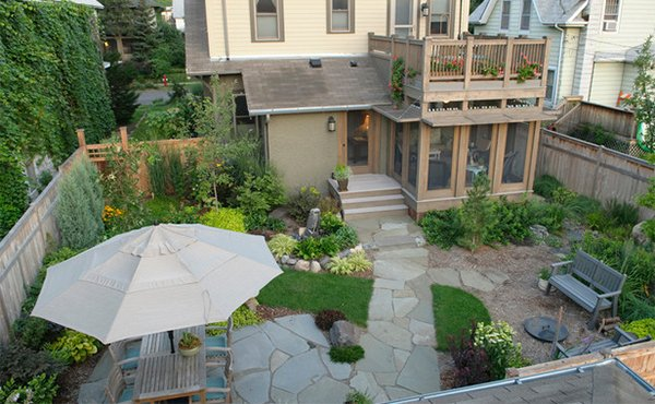 Urban Backyard Design : 15 Backyard Landscaping Ideas  Home Design Lover