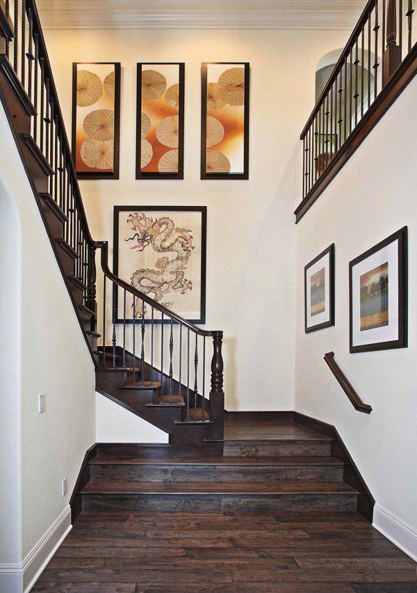 hardwood banisters