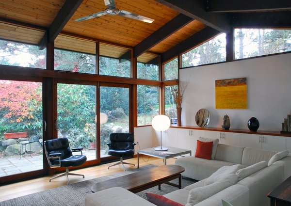 18 living room designs with vaulted ceiling home design for Living room roof designs