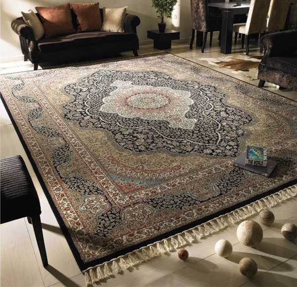 Machine Made Persian Rug 708002