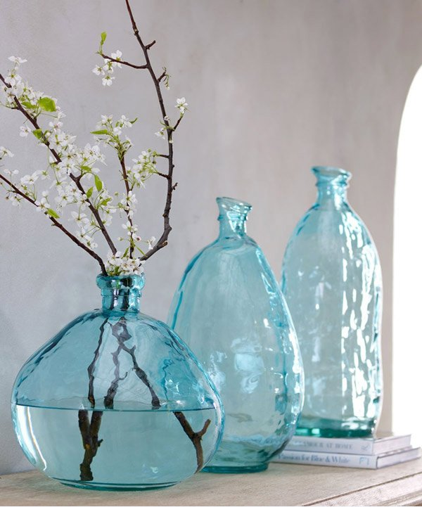 15 glass vases to adorn your interior home design lover - Vase decoration interieur ...