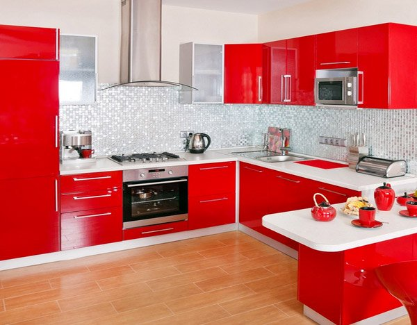 15 designs of modern kitchen cabinets home design lover for Kitchen units sa