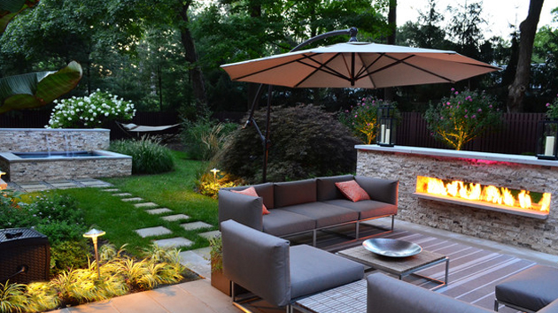 15 Backyard Landscaping Ideas Home Design Lover : backyard landscape from homedesignlover.com size 630 x 354 jpeg 249kB