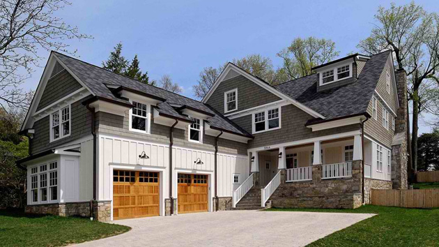 20 traditional architecture inspired with attached garages for Garage attached to house