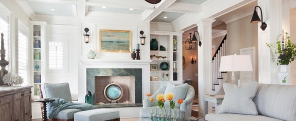 15 Different Living Room Ceiling Treatments