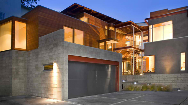 15 detached modern and contemporary garage design contemporary garage doors houzz