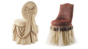 15 Skirted Traditional Vanity Chairs