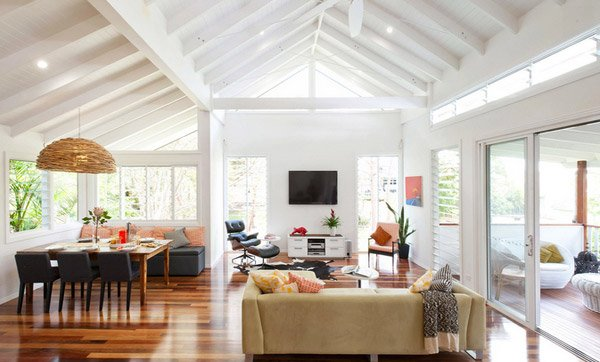 Homey Living Room 15 homey contemporary open living room ideas | home design lover