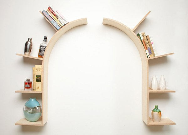 15 decorative wooden wall shelves home design lover - House design new model shelves ...