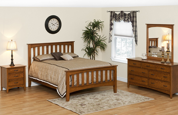 Riverside Mission Bedroom Set