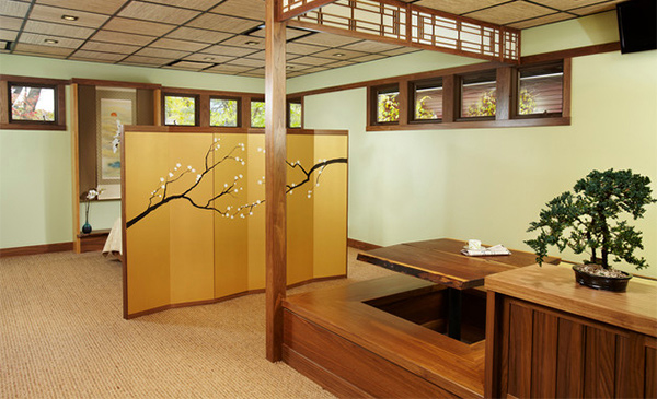 Ryokan (Japanese Guest House) Interior