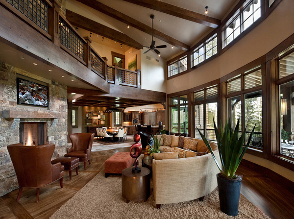 15 pretty brown living rooms | home design lover
