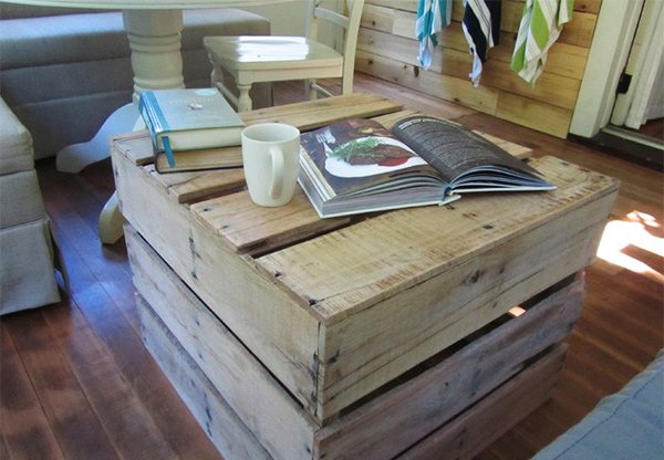 Reclaimed Coffee Table Crate