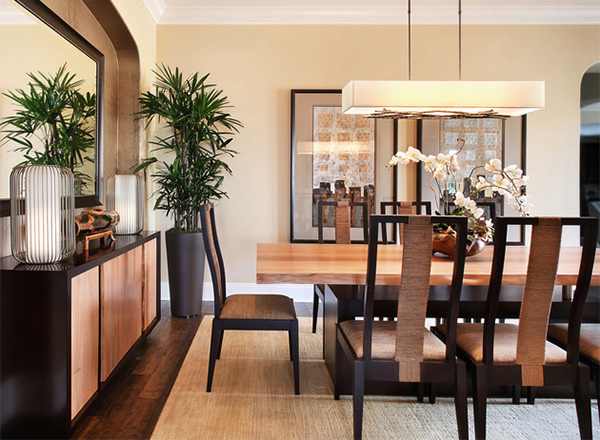 Beautiful Zen Dining Room Gallery - Room Design Ideas ...