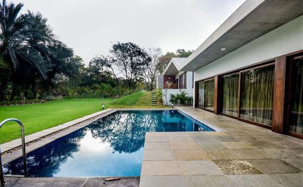 Aranya House Pool 4