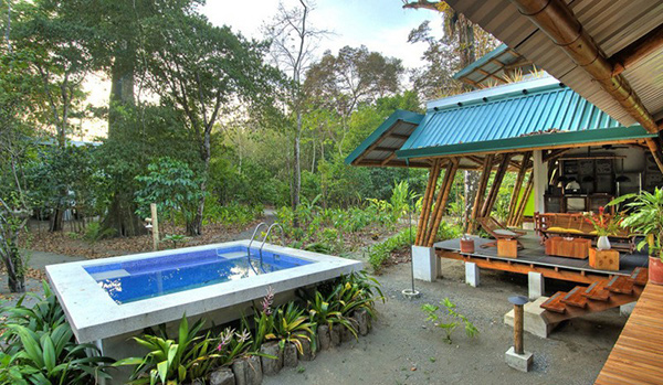 Casa atrevida a bamboo vacation home in costa rica home for Pool design costa rica
