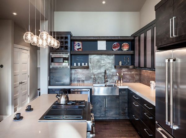 15 Awesome Black Tan Kitchen Designs  Home Design Lover