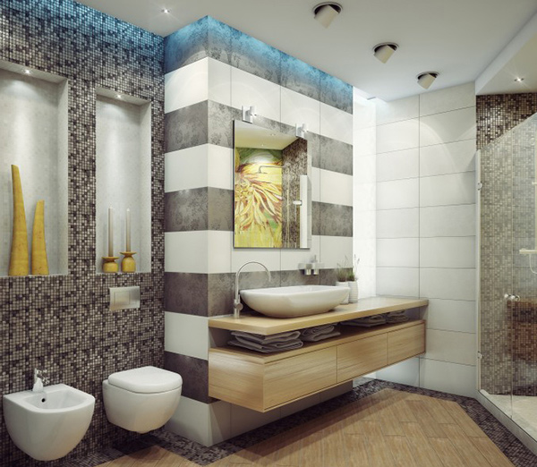 Bathroom Design Ideas With Stripes ~ Dream bathroom design variations home lover