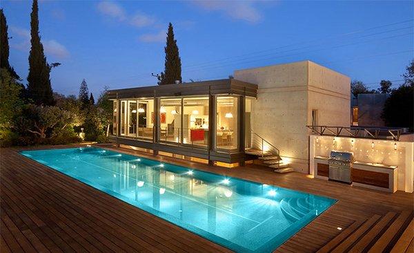 Swimming Pool Deck Exterior