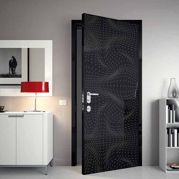 Modern Interior Doors Design 15 wooden panel door designs | home design lover