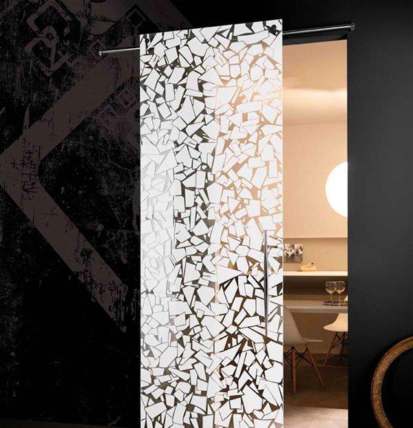 15 modern interior glass door designs for inspiration for Interior door glass designs