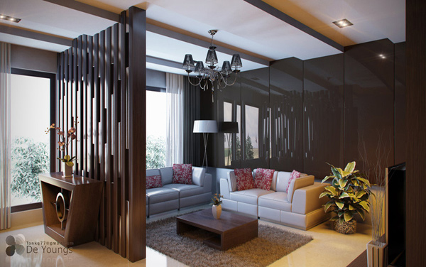 15 Pretty Brown Living Rooms Home Design Lover