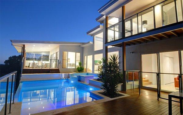 Hillside Pool Home