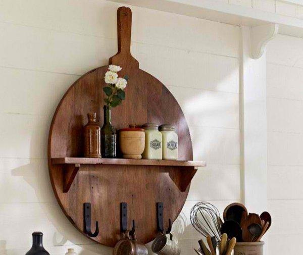 15 decorative wooden wall shelves home design lover. Black Bedroom Furniture Sets. Home Design Ideas