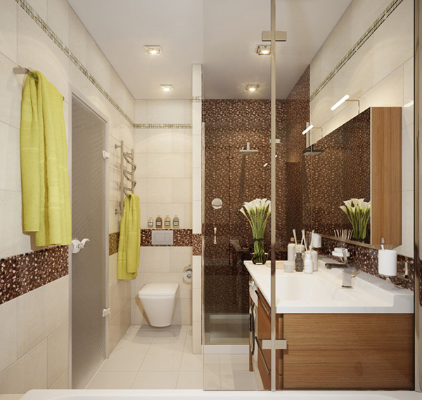 20 contemporary bathroom design ideas home design lover for Contemporary bathroom design