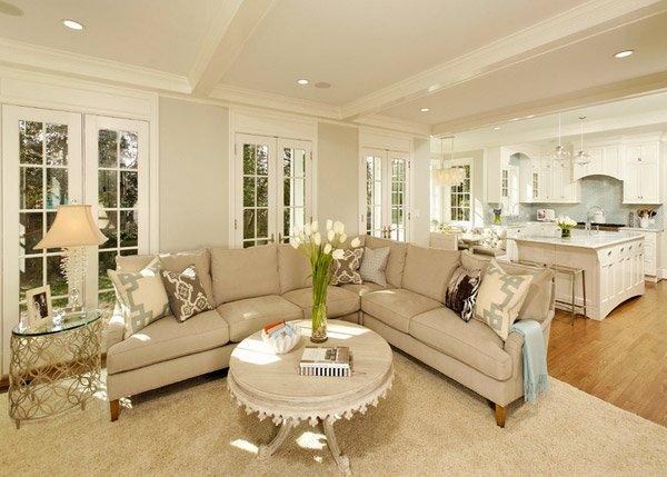 Homey living room ideas