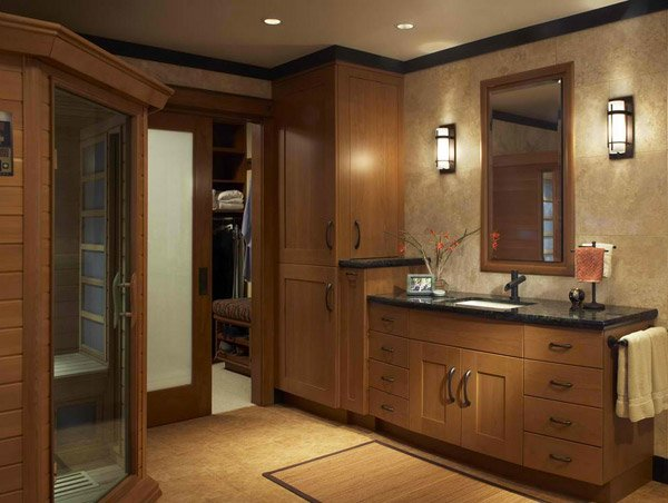 traditional tall bathroom cabinets design  home design lover, Bathroom decor