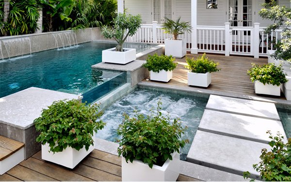 Key West Pool Contemporary