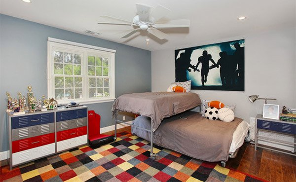 Kids Sports Room Ideas get athletic with 15 sports bedroom ideas | home design lover
