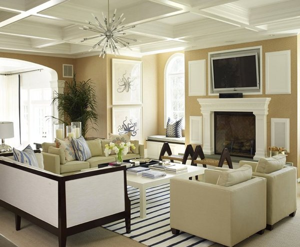The Combination Of The Different Sets Of Furniture Has Always Bot A  Technique For Designers Who Likes To Make Play With Visuals. This Living  Room, With ...