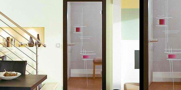 Charming Interior Glass Door