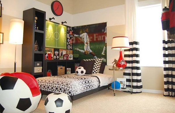 Get Athletic With 15 Sports Bedroom Ideas Home Design Lover