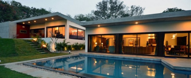 Relaxing Experience in Aranya House Design in India