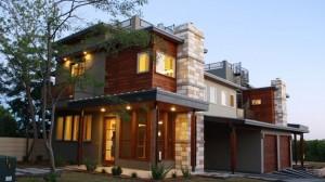 geometric house