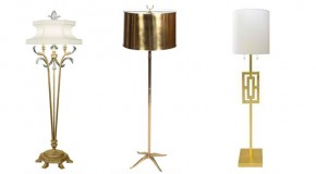 18 Gold Floor Lamp Design Ideas