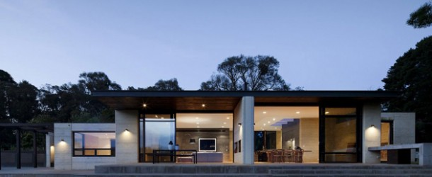 The Uniquely Built Merrick House in Australia