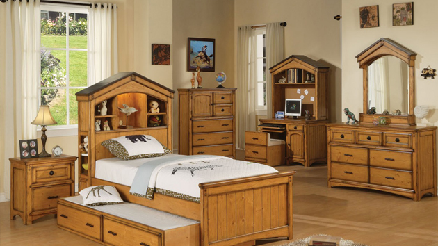 15 oak bedroom furniture sets home design lover for Oak bedroom furniture
