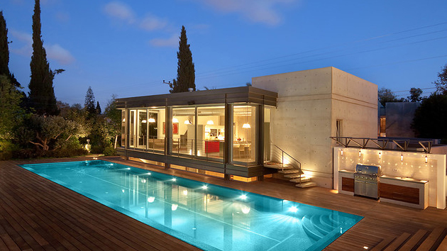 15 hardwood swimming pool decks | home design lover