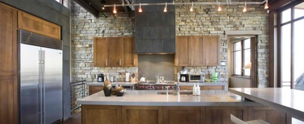 15 Stone Walled Kitchen Designs